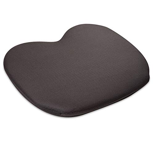 maxVitalis Orthopädisches Druckentlastungskissen, Sitzkissen mit Gel, Steißbeinkissen, ideal für Rollstuhlfahrer u. Dekubituspatienten, Bezug atmungsaktiv, bis 150 kg belastbar